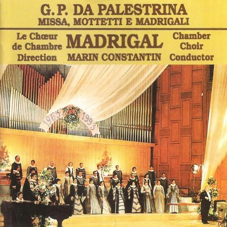 Madrigal - G.P. Da Palestrina - Missa, Mottetti e Madrgali - CD