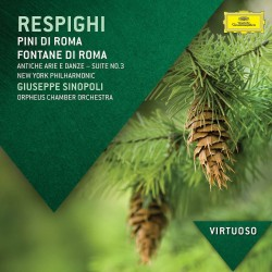 Ottorino Respighi - Pini Di Roma, Fontane di Roma, Antiche Arie E Danze - CD