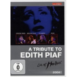 V/A - Edith Piaf (Tribute) - Live At Montreux 2004 - DVD Digipack