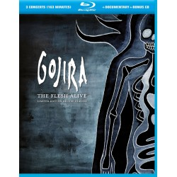 Gojira - The Flesh Alive - Blu-ray + CD Digipack