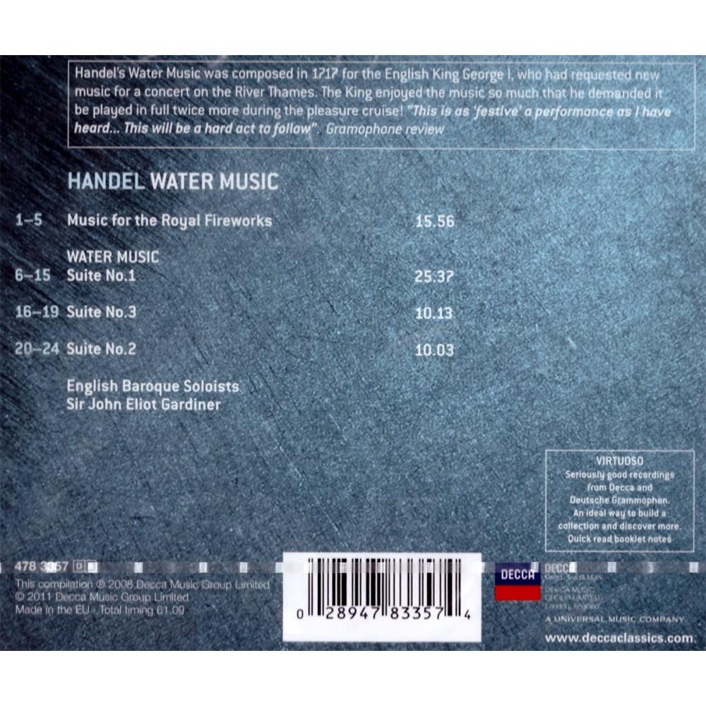 George Frideric Handel - Water Music / Fireworks Music - CD - MyCD