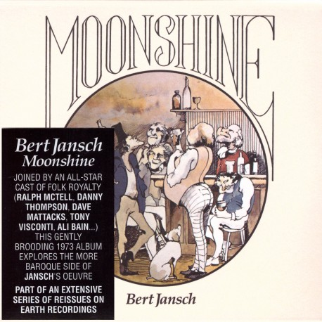 Bert Jansch - Moonshine - CD vinyl replica