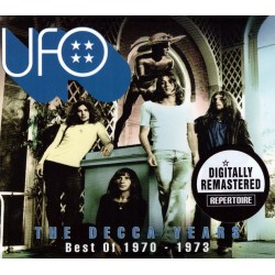UFO ‎- The Decca Years - Best Of 1970-1973 - 2CD