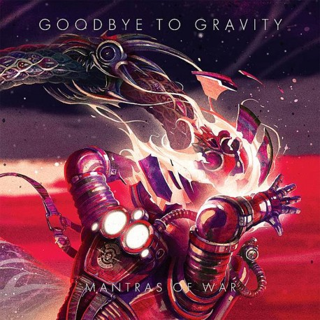 Goodbye To Gravity - Mantras Of War - CD
