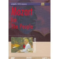 Wolfgang Amadeus Mozart - Friedrich Gulda: Mozart For The People - DVD