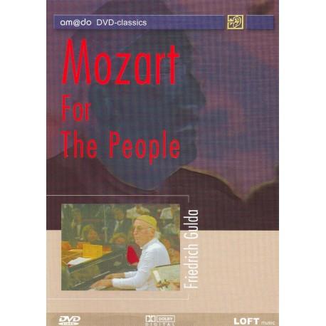 Wolfgang Amadeus Mozart - Friedrich Gulda: Mozart For The People - DVD