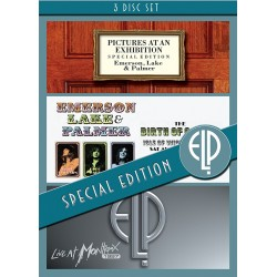 Emerson, Lake & Palmer - Isle Of Wight / Pictures At An Exhibition / Live Montreux - 3DVD