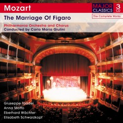 Wolfgang Amadeus Mozart - The Marriage Of Figaro - 3CD Digipack
