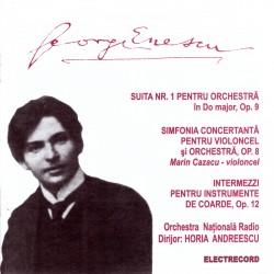 George Enescu - Suita nr.1 / Simfonia concertanta / Intermezzi - CD