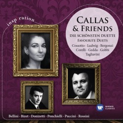 Maria Callas & Friends - Die Schonsten Duette - CD