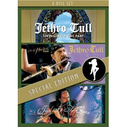 Jethro Tul - Living With The Past / Live Montreux 2003 / Jack In The Green - 3DVD