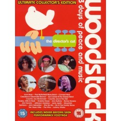 V/A - Woodstock 3 Days of Peace and Music - Collectors Edition - 4 DVD