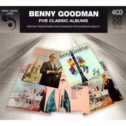 Benny Goodman - Five Classic Albums - 4CD Digipack