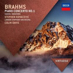 Johannes Brahms - Piano Concerto No.1 / Handel Variations - CD