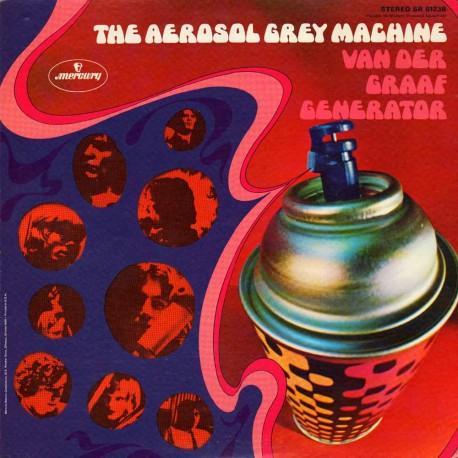 Van Der Graaf Generator - Aerosol Grey Machine - vinyl LP