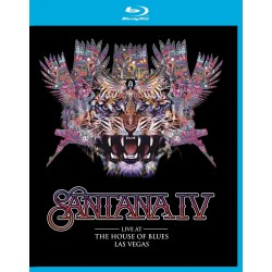 Carlos Santana - Santana IV - Live At The House of Blues Las Vegas - Blu-ray