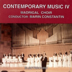 Madrigal - Contemporary Music - Vol.IV - CD