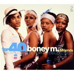 Boney M. - Top 40 - Boney M. & Friends - 2CD Digipack