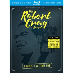Robert Cray Band - 4 Nights Of 40 Years Live - Blu-ray + CD