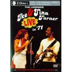 Ike & Tina Turner - Live In 71 - DVD + CD