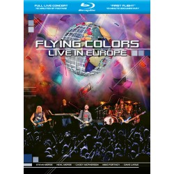 Flying Colors - Live In Europe - Blu-ray Digipack