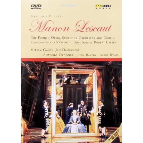Giacomo Puccini - Manon Lescaut - DVD