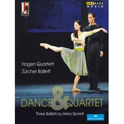 Zurcher Ballett & Hagen Quartett - Dance & Quartet, Three Ballets by Heinz Spoerli - DVD