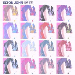 Elton John - Leather Jackets - Cut-out Vinyl LP
