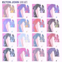 Elton John - Leather Jackets - Cut-out Vinyl LP