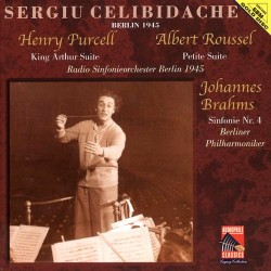 Sergiu Celibidache Conducts Purcell / Roussel / Brahms - King Arthur Suite / Petite Suite / Simfonie No.4 - SBM Gold CD
