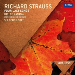 Richard Strauss - Four Last Songs - CD