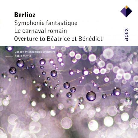 Hector Berlioz - Symphonie Fantastique, Le Carnaval Romain, Overture - CD
