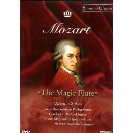 Wolfgang Amadeus Mozart - Magic Flute (Opera in 2 Acts) - DVD
