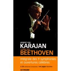 Ludwig van Beethoven - Intégrale des 9 symphonies et ouvertures célèbres - 6 CD + BOOK