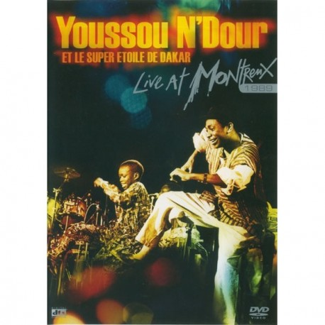 Youssou N'dour - Live At Montreux 1989 - DVD Digipack
