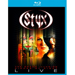 Styx - Grand Illusion / Pieces of Eight Live - Blu-ray