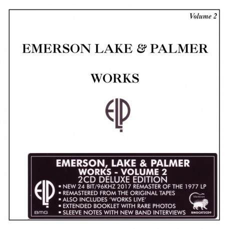 Emerson, Lake & Palmer - Works Volume 2 - 2 CD
