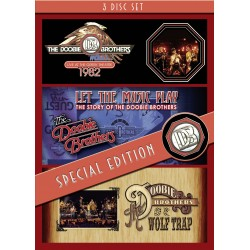 Doobie Brothers - Live At The Greek Theatre 1982 - 3 DVD