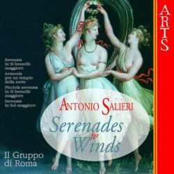 Antonio Salieri - Serenades for Winds - CD