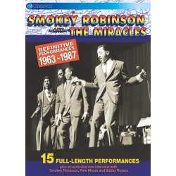 Smokey Robinson & The Miracles - Definitive Performances 1963-1967 - DVD