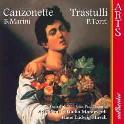 Biagio Marini / Pietro Torri - Canzonette / Trastulli - CD