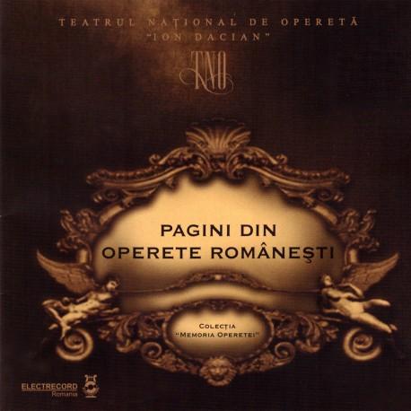 V/A - Pagini din operete romanesti - CD