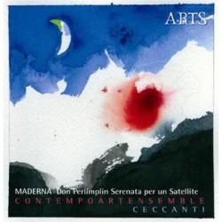 Bruno Maderna - Don Perlimplin / Serenata per un Satellite - CD