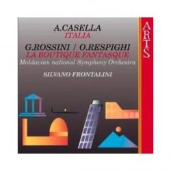Casella / Respighi - Italia / La Boutique Fantasque - CD