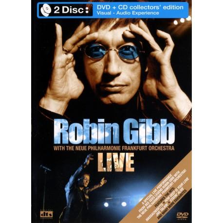 Robin Gibb - Live - DVD + CD