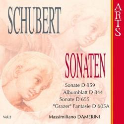 Franz Schubert - Complete Piano Sonatas Vol. 2 - CD