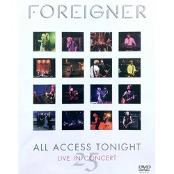 Foreigner - All Access Tonight - DVD