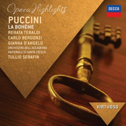 Giacomo Puccini - La Boheme - Highlights - CD