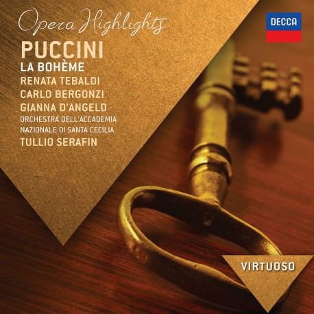 Giacomo Puccini - La Boheme - Highlights - CD