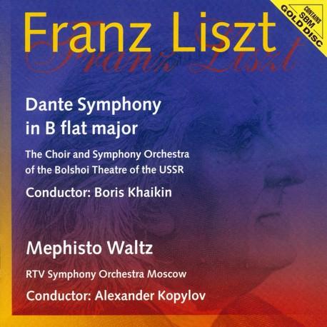 Franz Liszt - Dante Symphony / Mephisto Waltz - SBM Gold CD